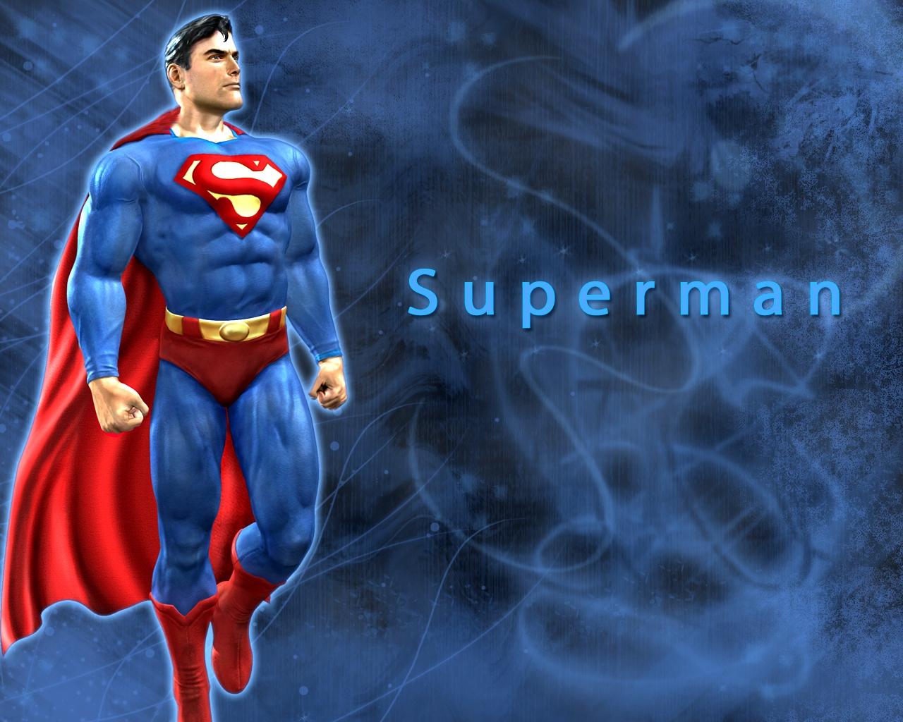 Zeichentrick   Superman Superman Wallpaper 1280x1024
