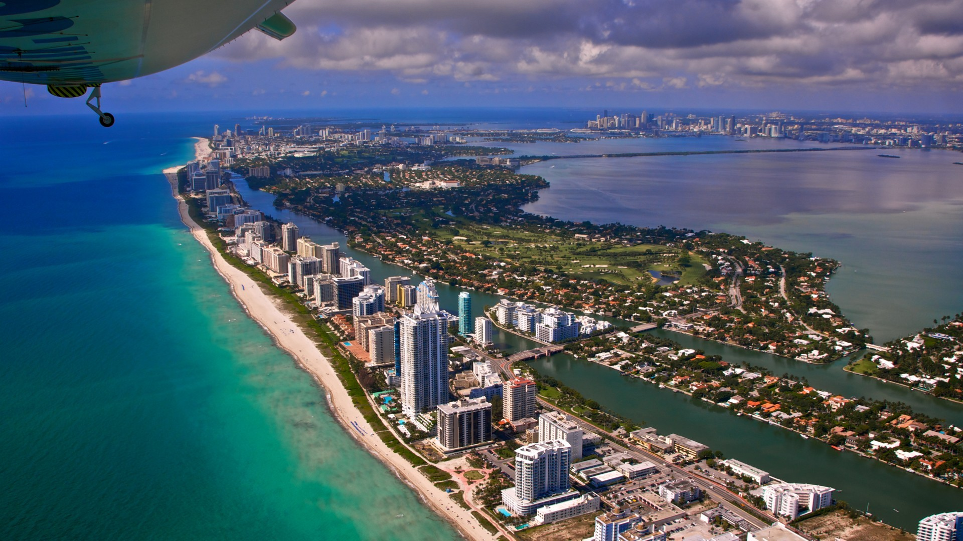 Free Download Miami Florida 1920x1080 Full Hd Wallpaper