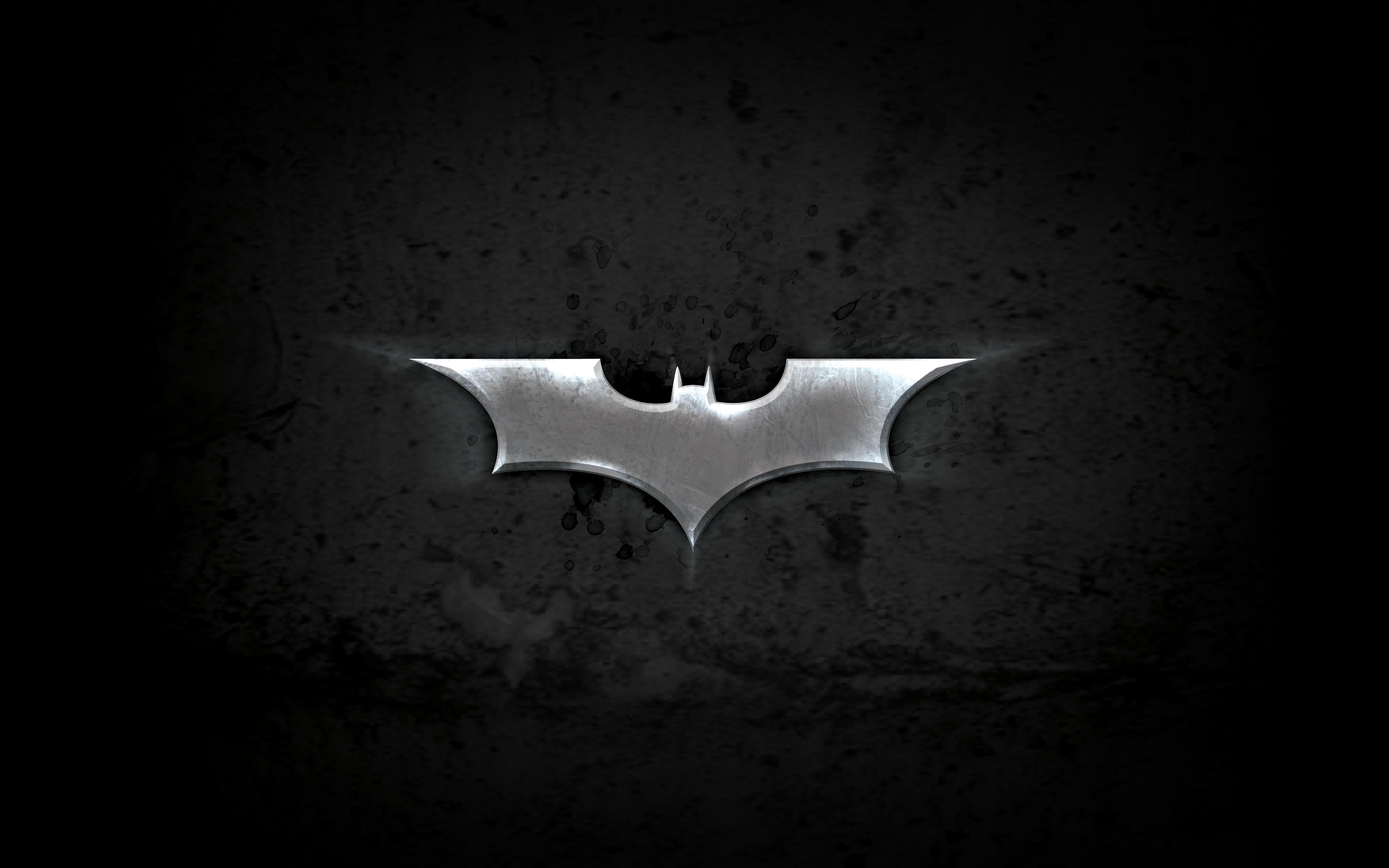 download batman symbol logo black backgrounds wallpapers cool cartoon 4000x2500