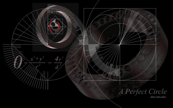 circle wallpaper Perfect Circle Wallpaper 600x375