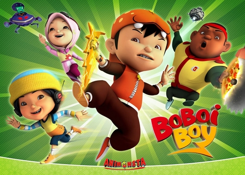 Boboiboy images Boboiboy and His Friend wallpaper and 500x356