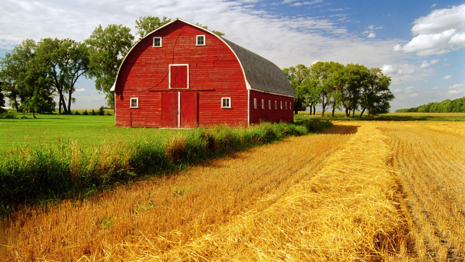 farm homes wallpaper - photo #11