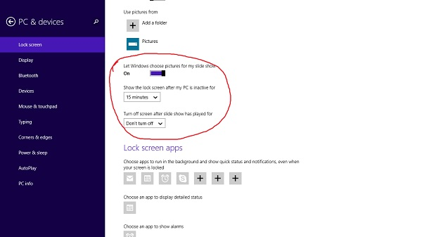 How to Turn Your Windows 81 Lock Screen into a Slideshow Microsoft 600x337