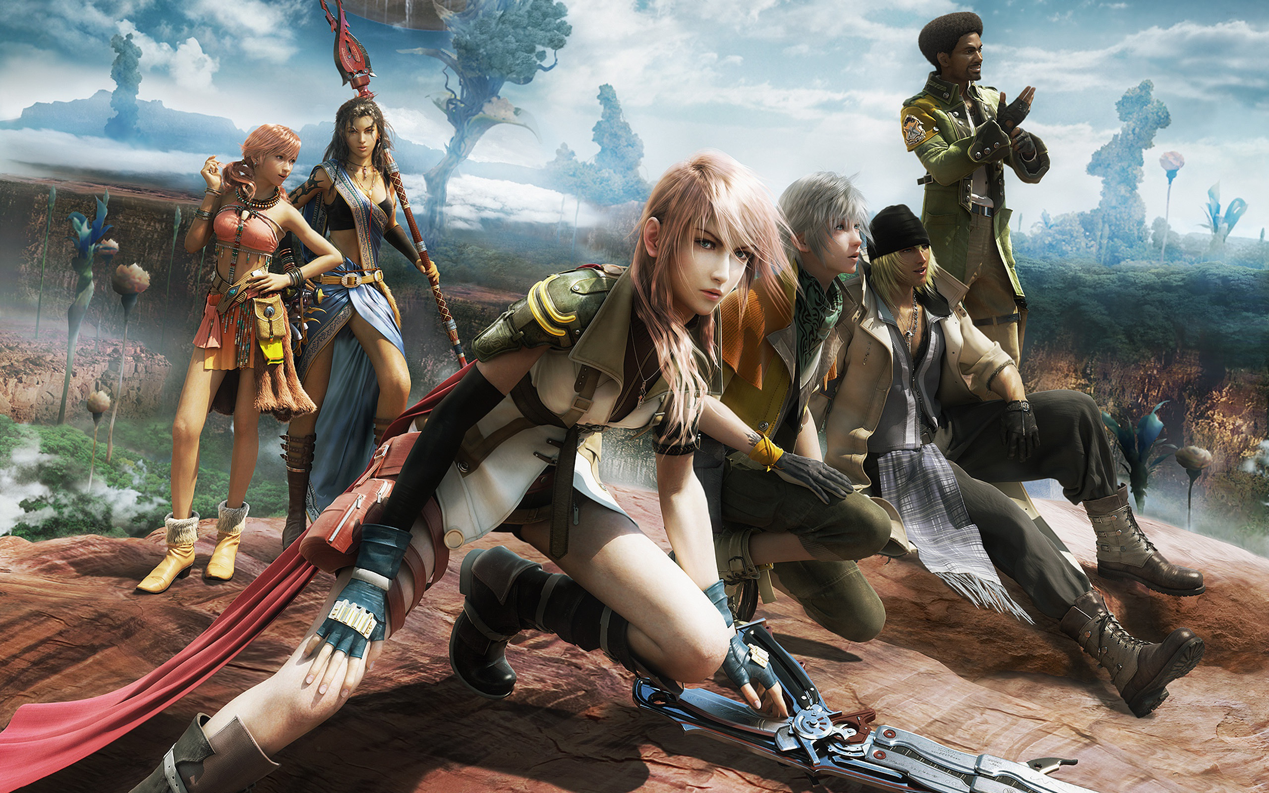 Free Download Review Final Fantasy Xiii 2 Share Indonesian Ideas