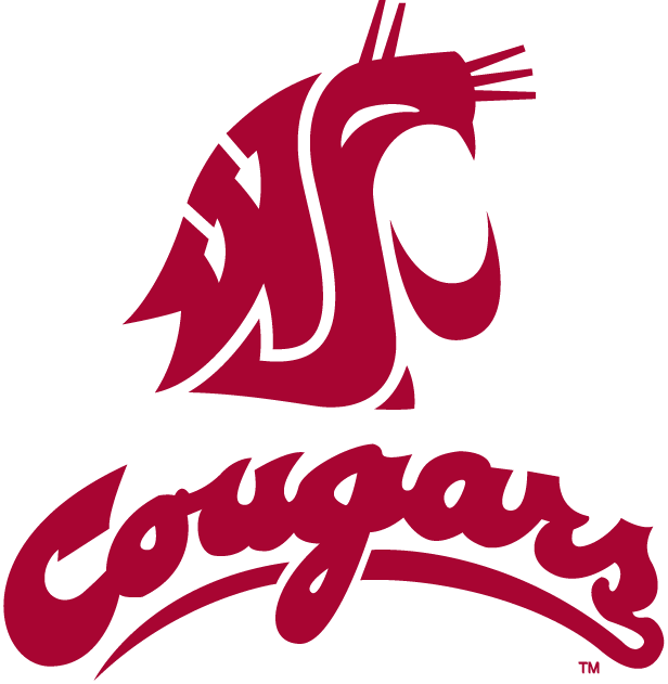 Washington State Cougars Alternate Logo   NCAA Division I u z NCAA 616x631
