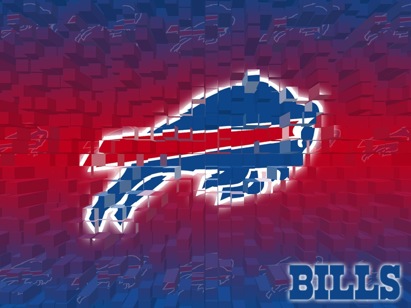3D logo NFL Buffalo Bills Sports Football HD Desktop Wallpaper 800x600