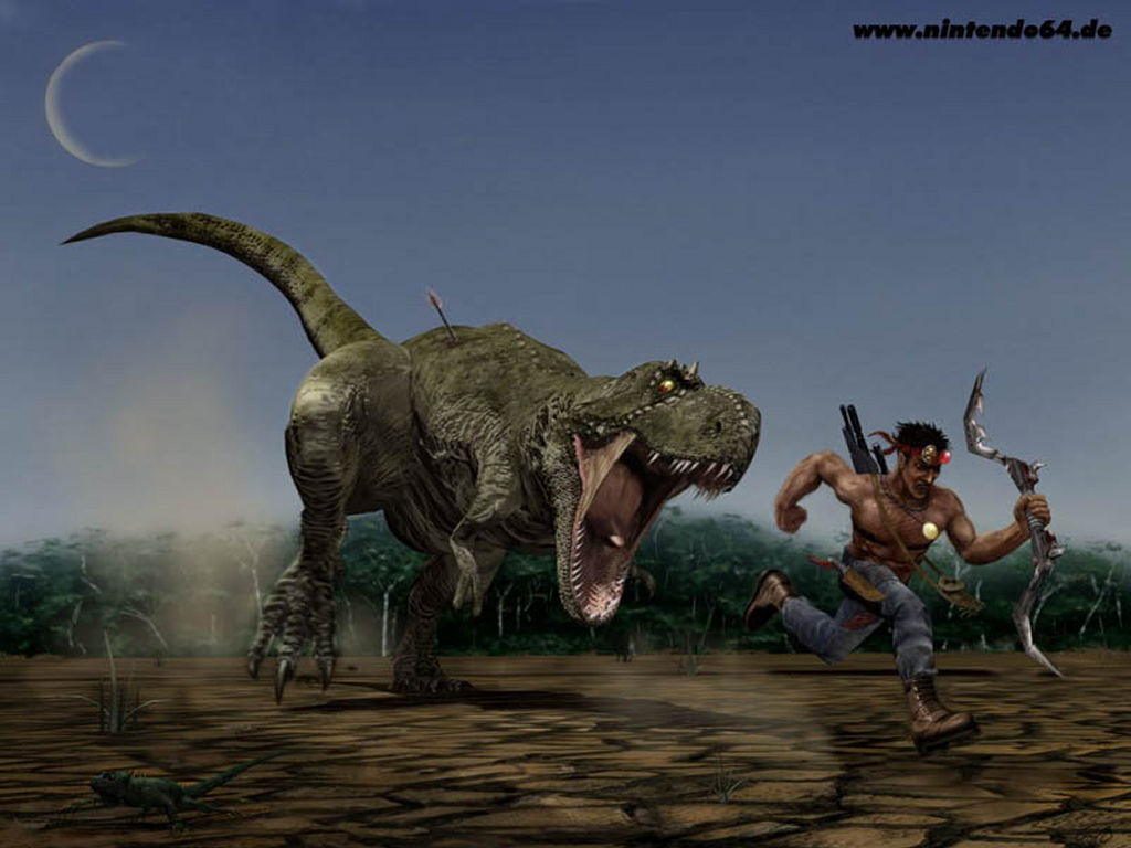 Download Large Games Turok Dinosaur Hunter Image Wallpaper 1024x768