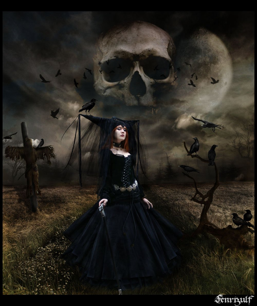 witch and skull Wallpapers Metal Gothic Heavy Metal wallpapers 1000x1191