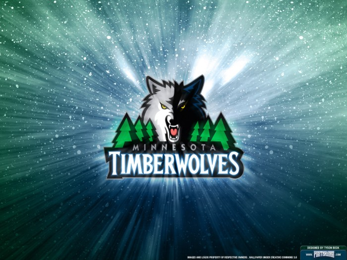 Minnesota Timberwolves Logo Wallpaper Posterizes NBA Wallpapers 700x525