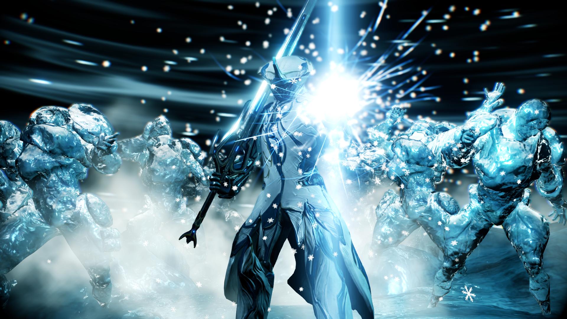 Warframe Frost Prime Wallpaper