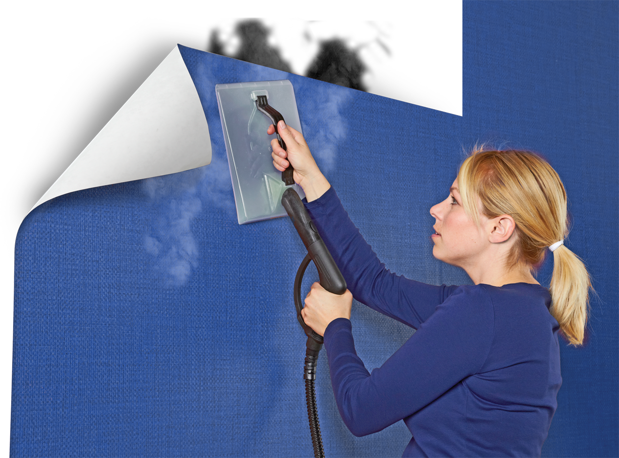 that the SteamMachine has an attachment that helps remove wallpaper 1265x936