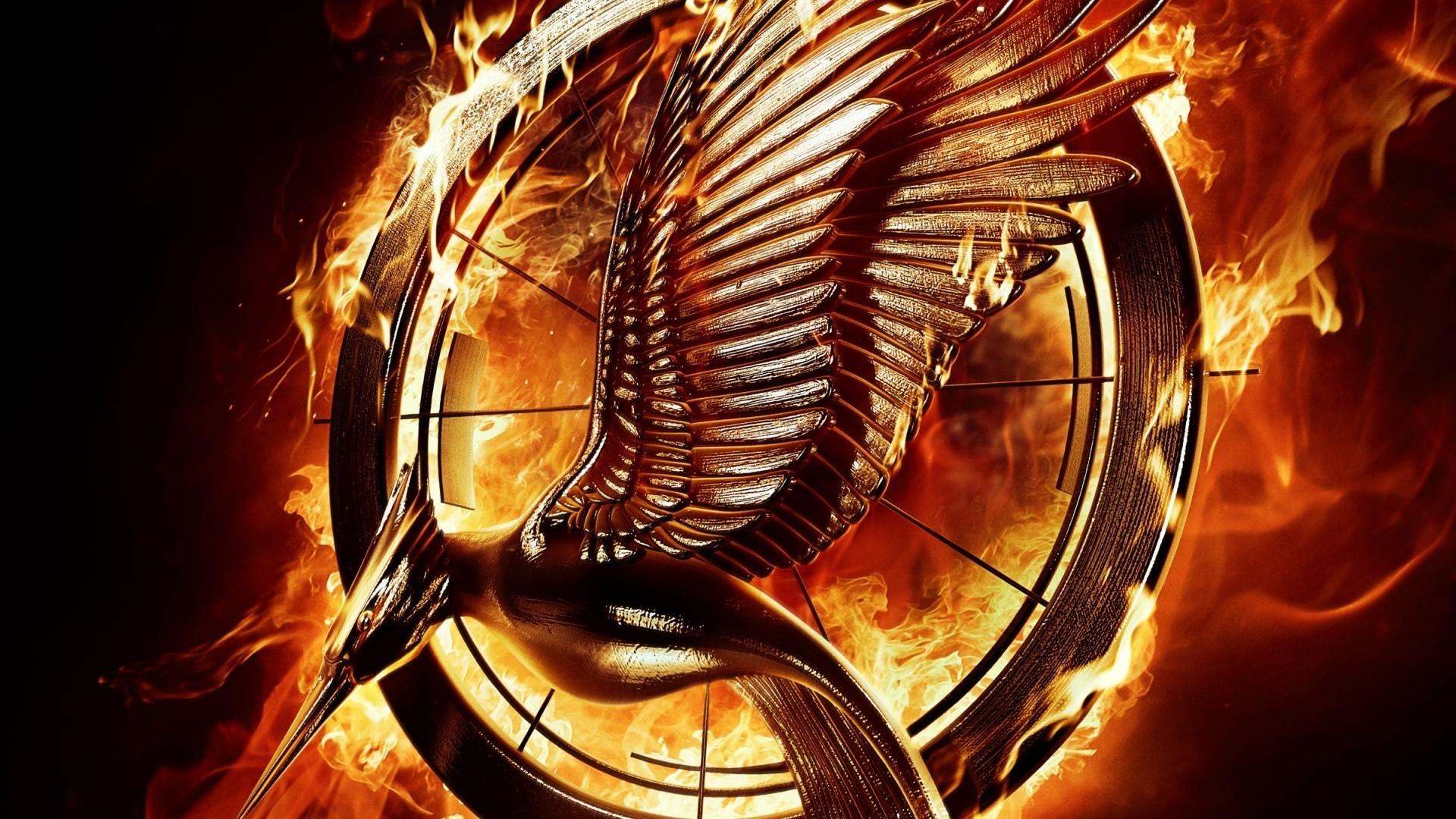 The Hunger Games MockingJay Pin widescreen wallpaper | Wide ...