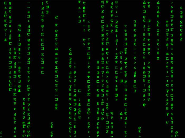 Animated Matrix Code Wallpaper   Download 700x522