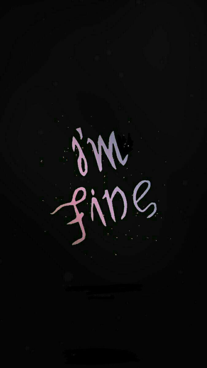 Im fine save me BTS in 2019 Bts wallpaper BTS Bts lockscreen 675x1200