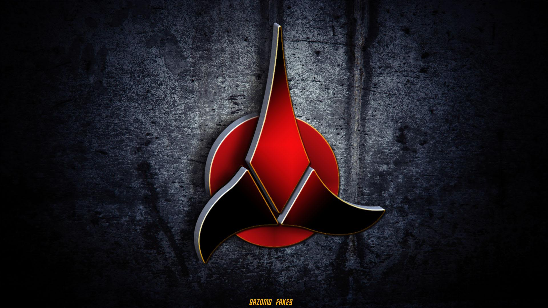 Star Trek Klingon Logo Wallpaper by gazomg 1920x1080