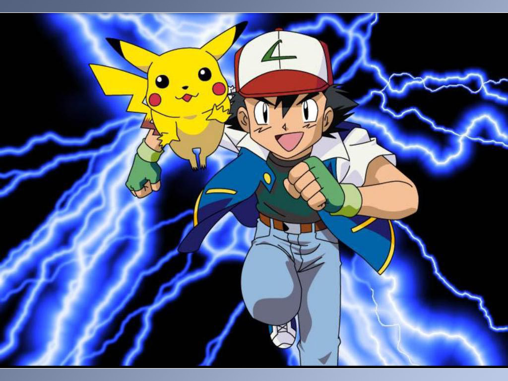 Pikachu and Ash   Pokmon Wallpaper 30421592 1024x768