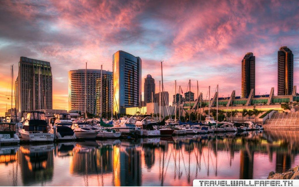 san diego harbor High definition HD Wallpaper   California 1024x640