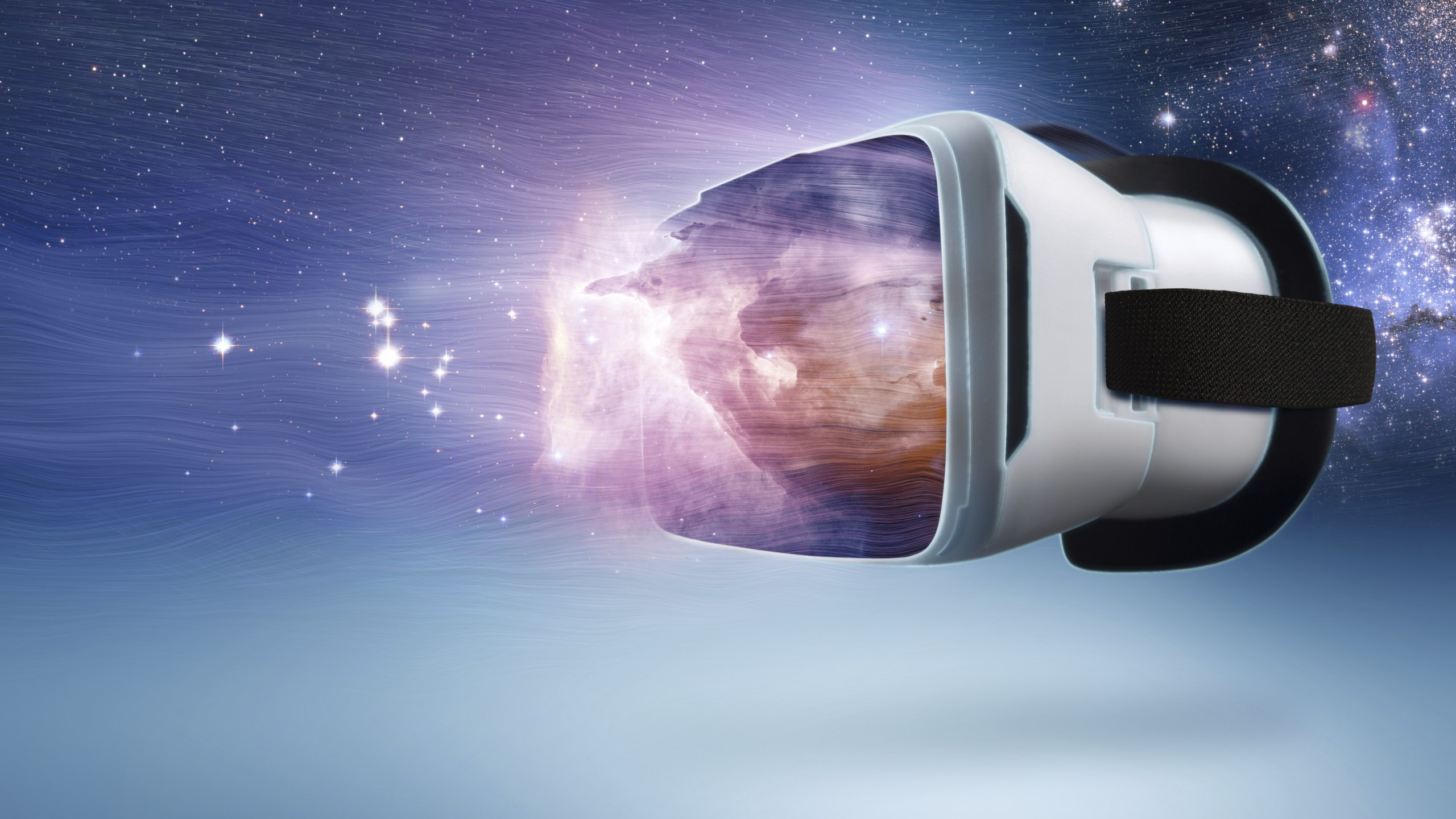 Wallpaper VR Virtual Reality space Hi Tech 12369 2560x1440