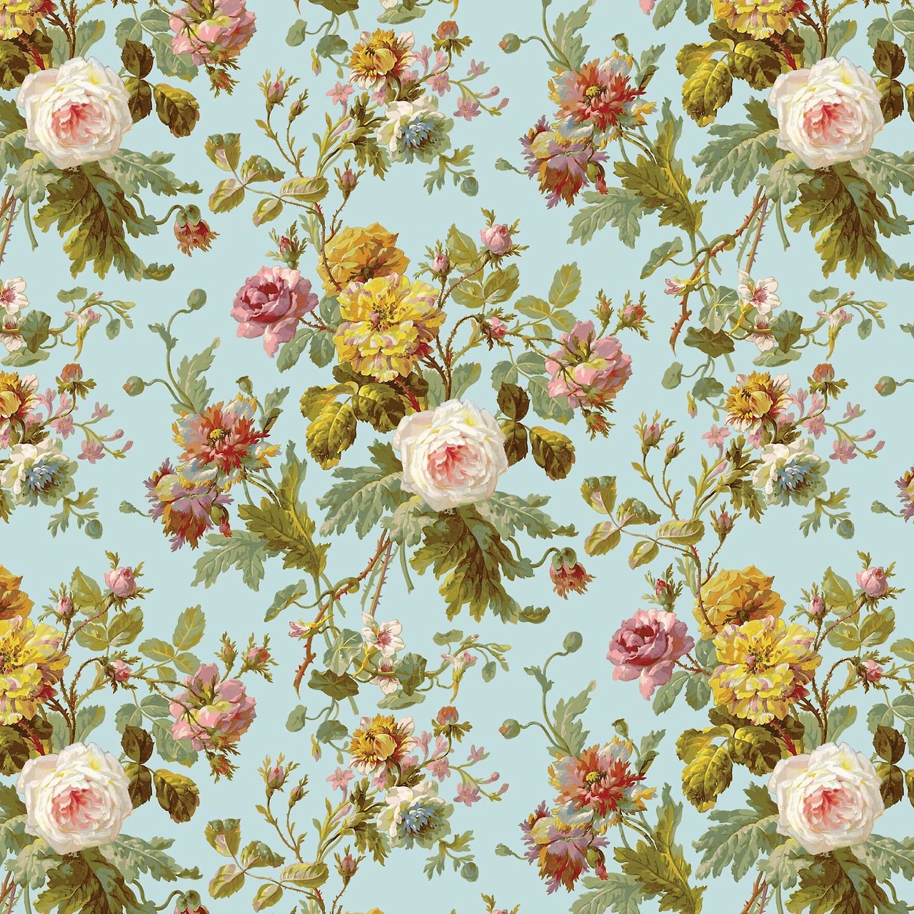 Free Download Vintage Floral Wallpaper Pattern Cool Hd Wallpapers