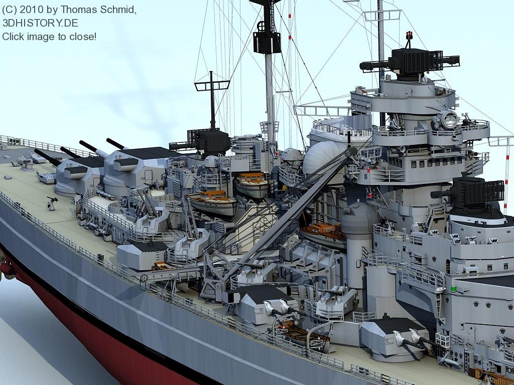 Bismarck   Bismarck   3dhistory   Gallery   C4Dzone 1024x768