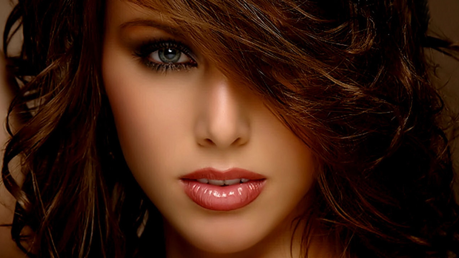 faces face wallpapers female pretty desktop eyes looking backgrounds amazing makeup beauty related wallpapersafari hair phone px resolution attractive