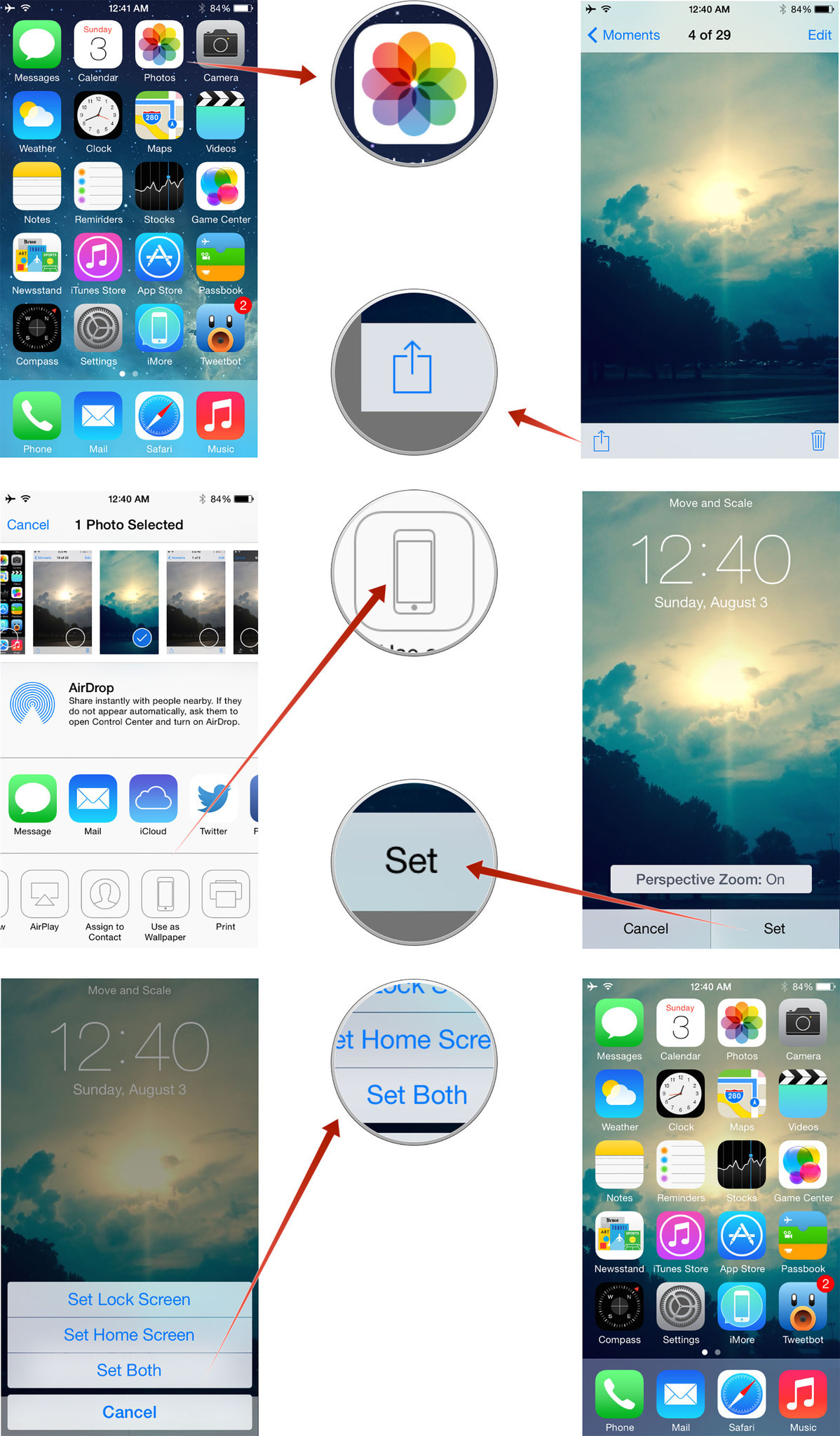 How to change the wallpaper to customize your iPhone or iPad iMore 1198x2048