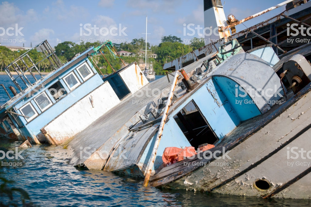 Shipwreck Background With Copy Space Stock Photo   Download Image 1024x682