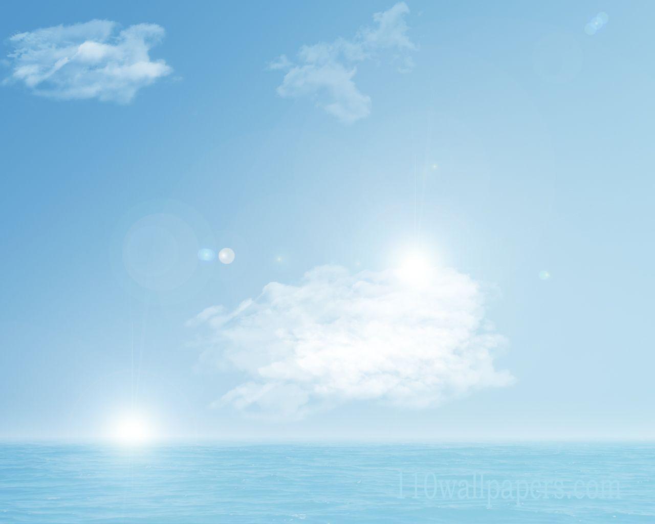 light blue ske desktop background picturejpg 1280x1024