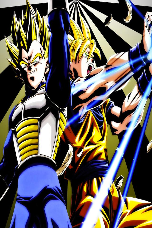 Wallpapers for DBZ Kakarott Goku vs Vegeta aplicaciones iPhone de 640x960