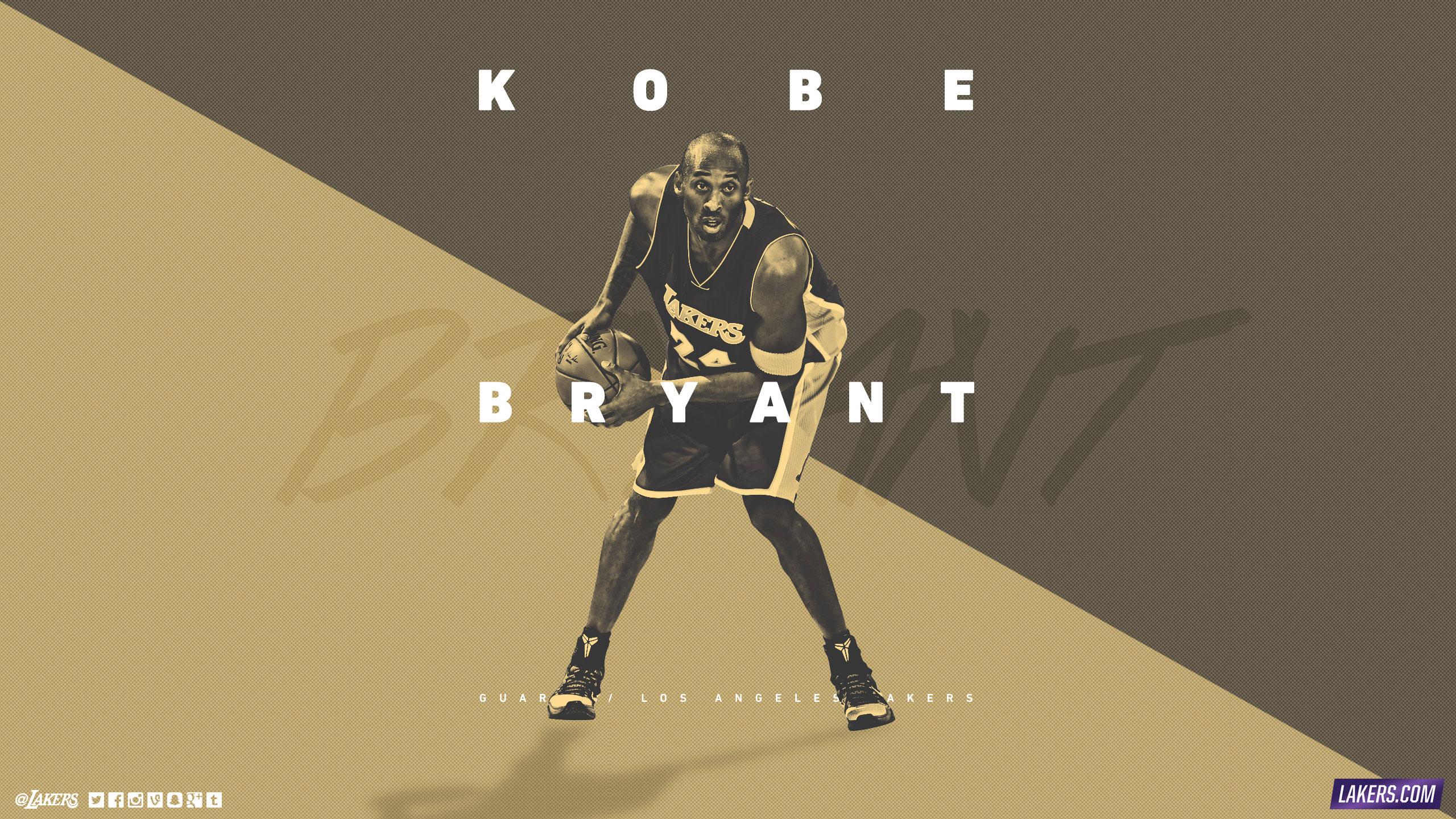 Kobe Bryant LA Lakers 2015 25601440 Wallpaper Basketball 2560x1440