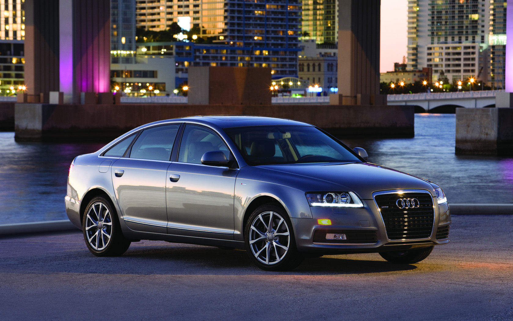 Audi Audi A6 Audi A6 Desktop Wallpapers Widescreen Wallpaper 1680x1050