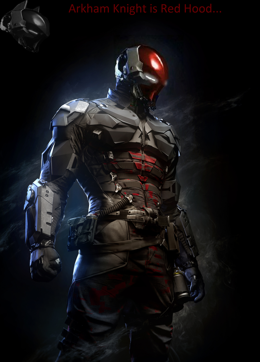 Red Hood Arkham Knight Wallpaper - WallpaperSafari