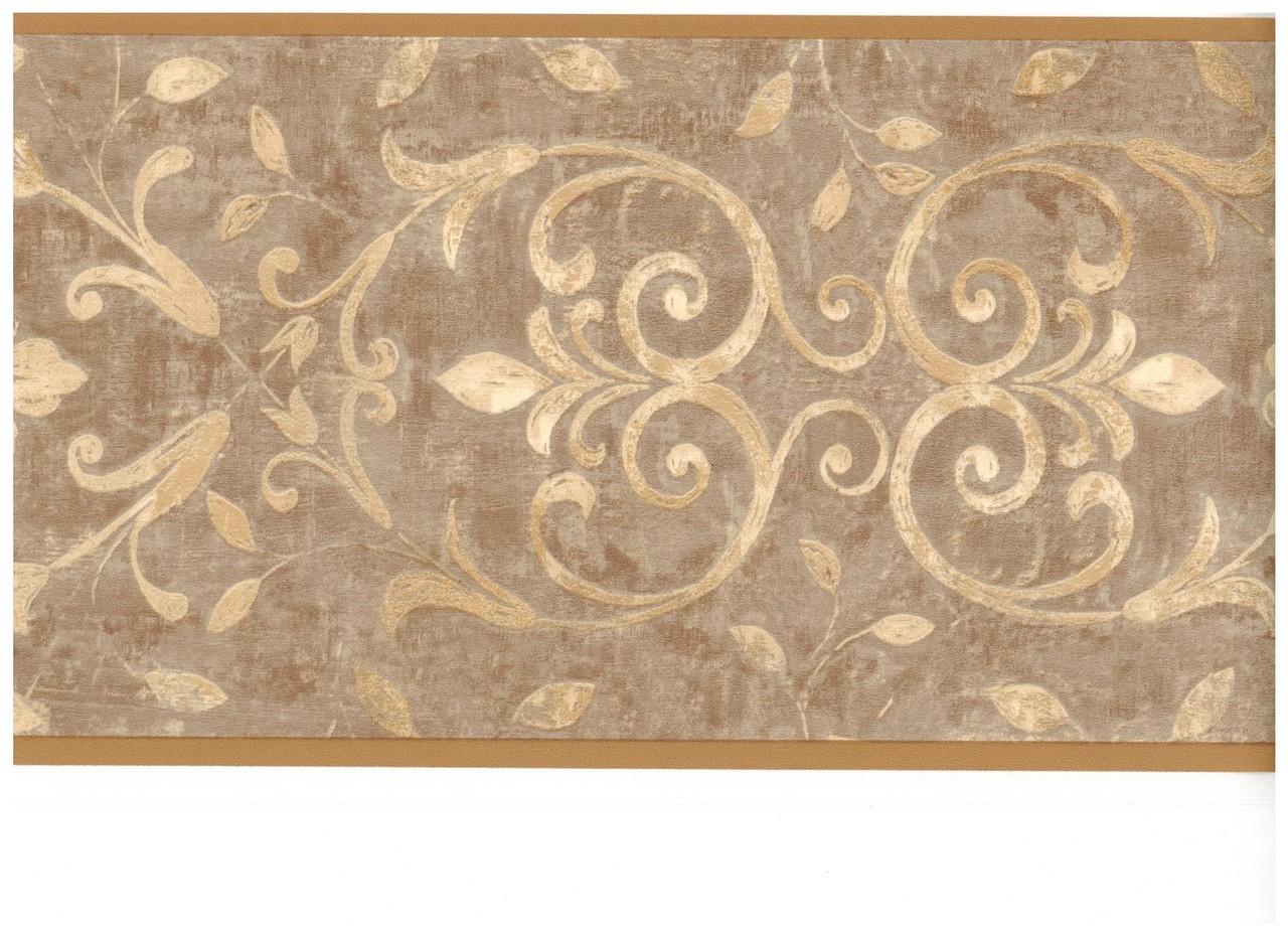 Beige Antique Scroll Wallpaper Border   Clearance   InteriorPlacecom 1280x931