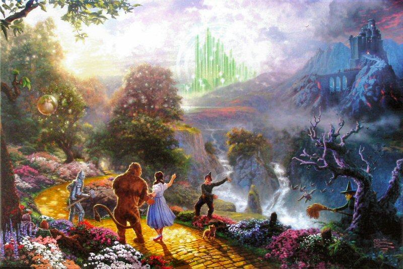 Wizard of Oz Emerald City wallpaper 800 x 534 Wallpaper 800x534