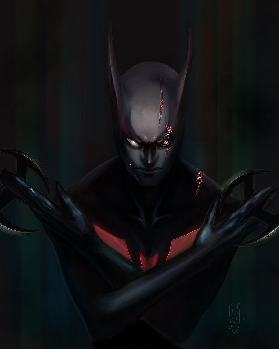 Batman Beyond by lGSG 9Sniper01 900x1125