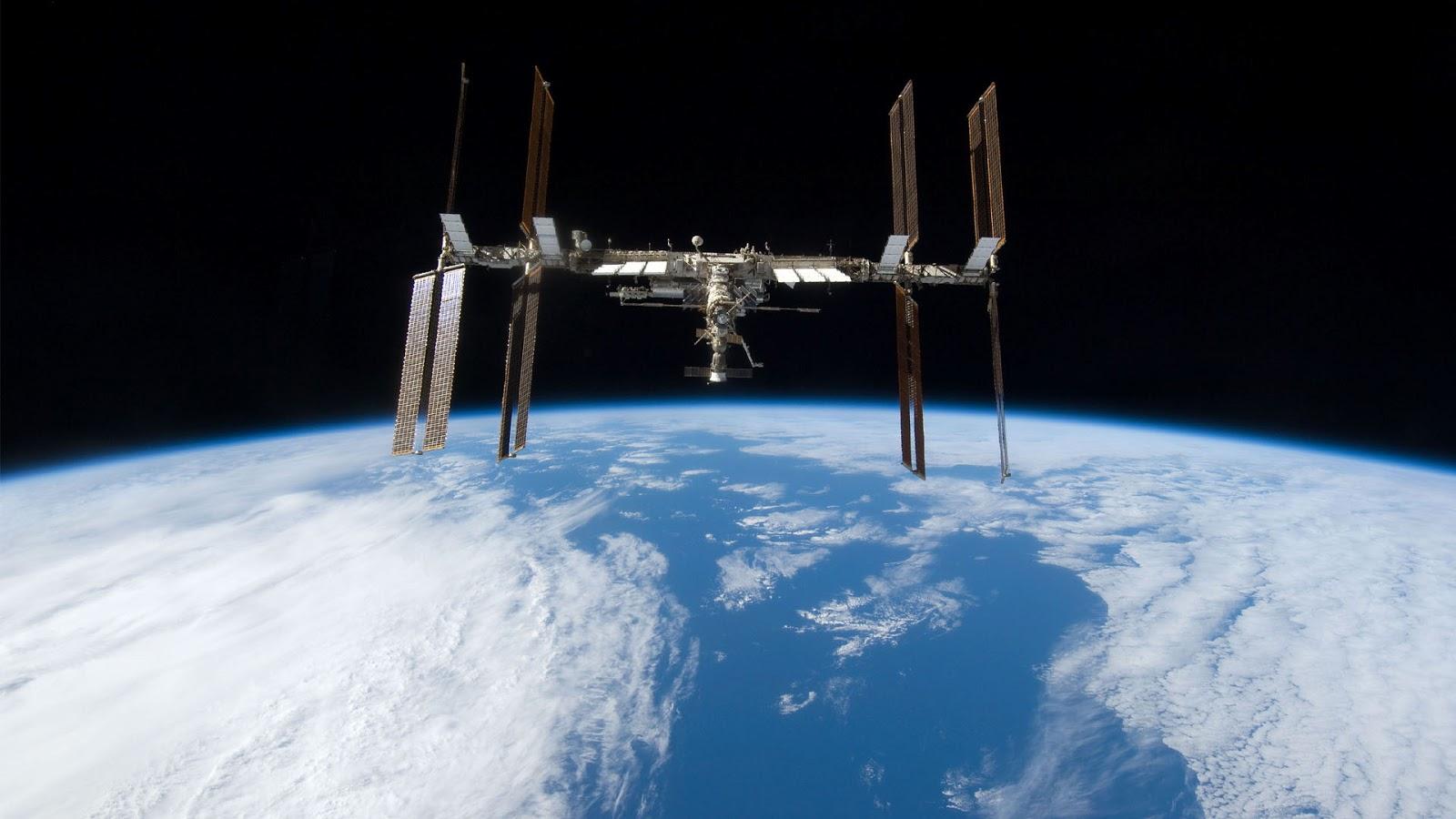 International space station wallpaper wallpapersafari - Space wallpaper 1600x900 ...