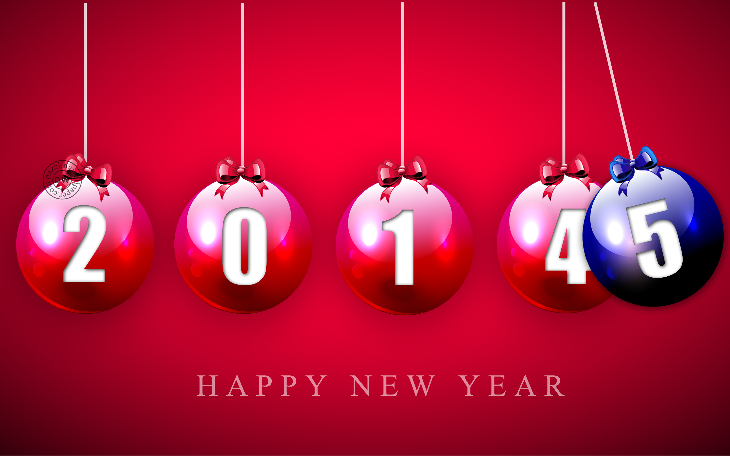 50 Happy New Year Wallpapers 2015 for Desktop 2880x1800