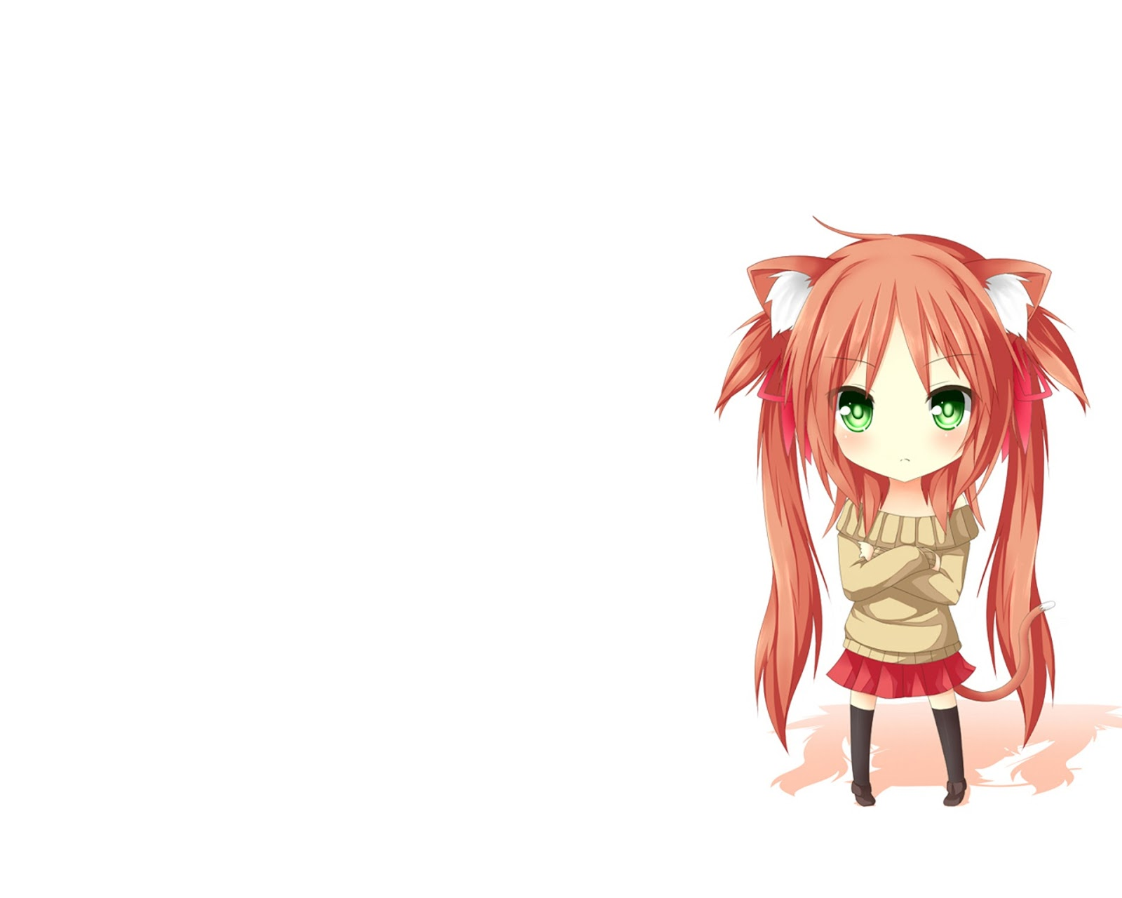 Chibi Vocaloid for Desktop wallpaper cute PNG file 1600x1280