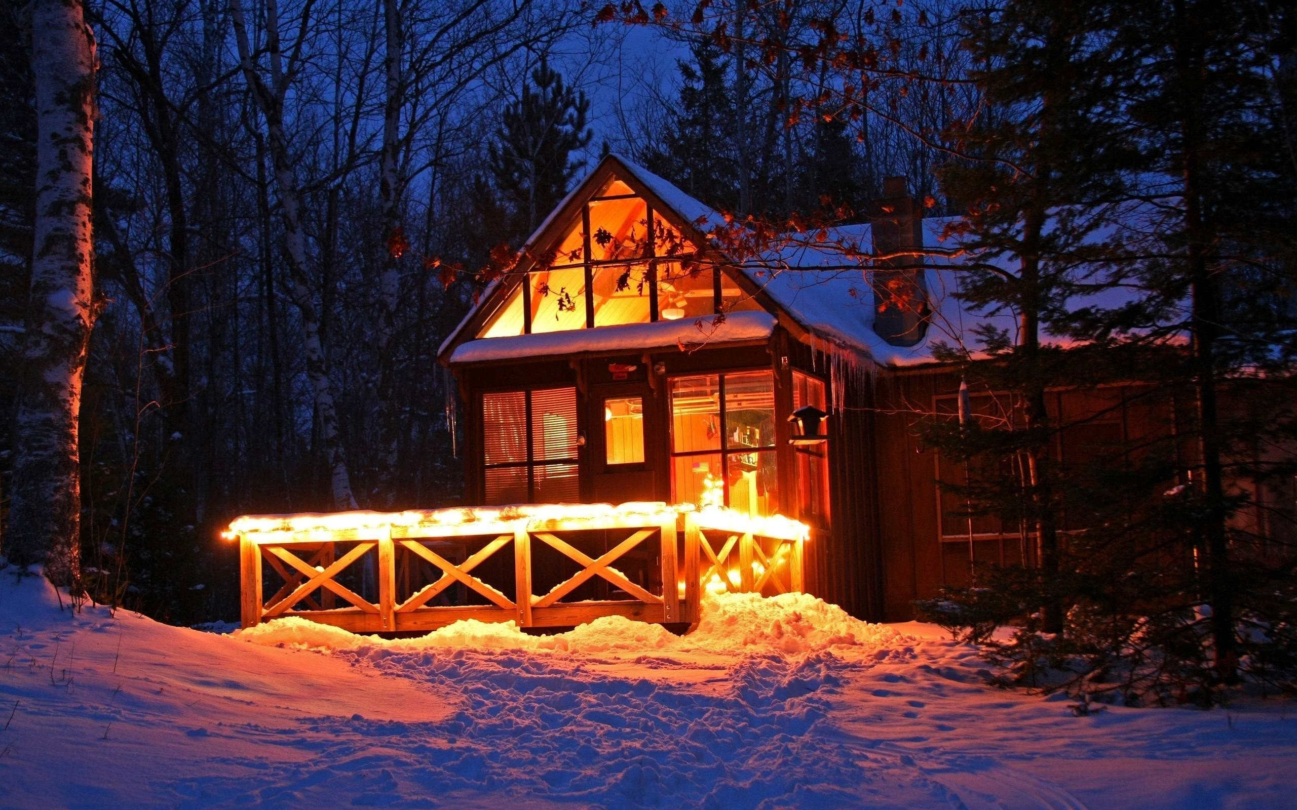 62 Winter Cabin Wallpapers on WallpaperPlay 2560x1600