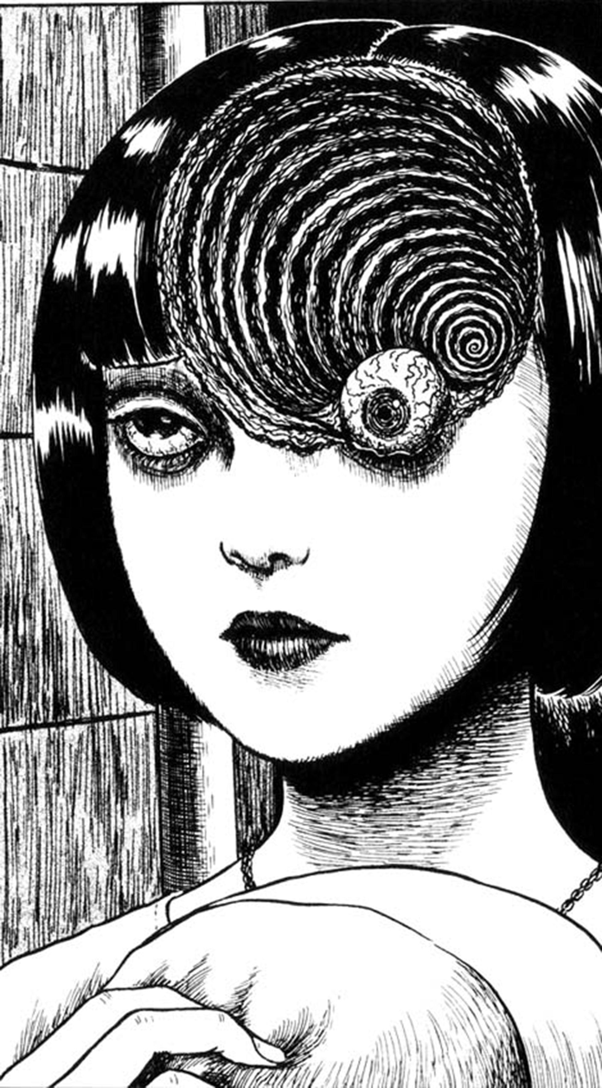 Uzumaki de Junji Ito Phone wallpaper in 2019 Migraine art 1958x3537