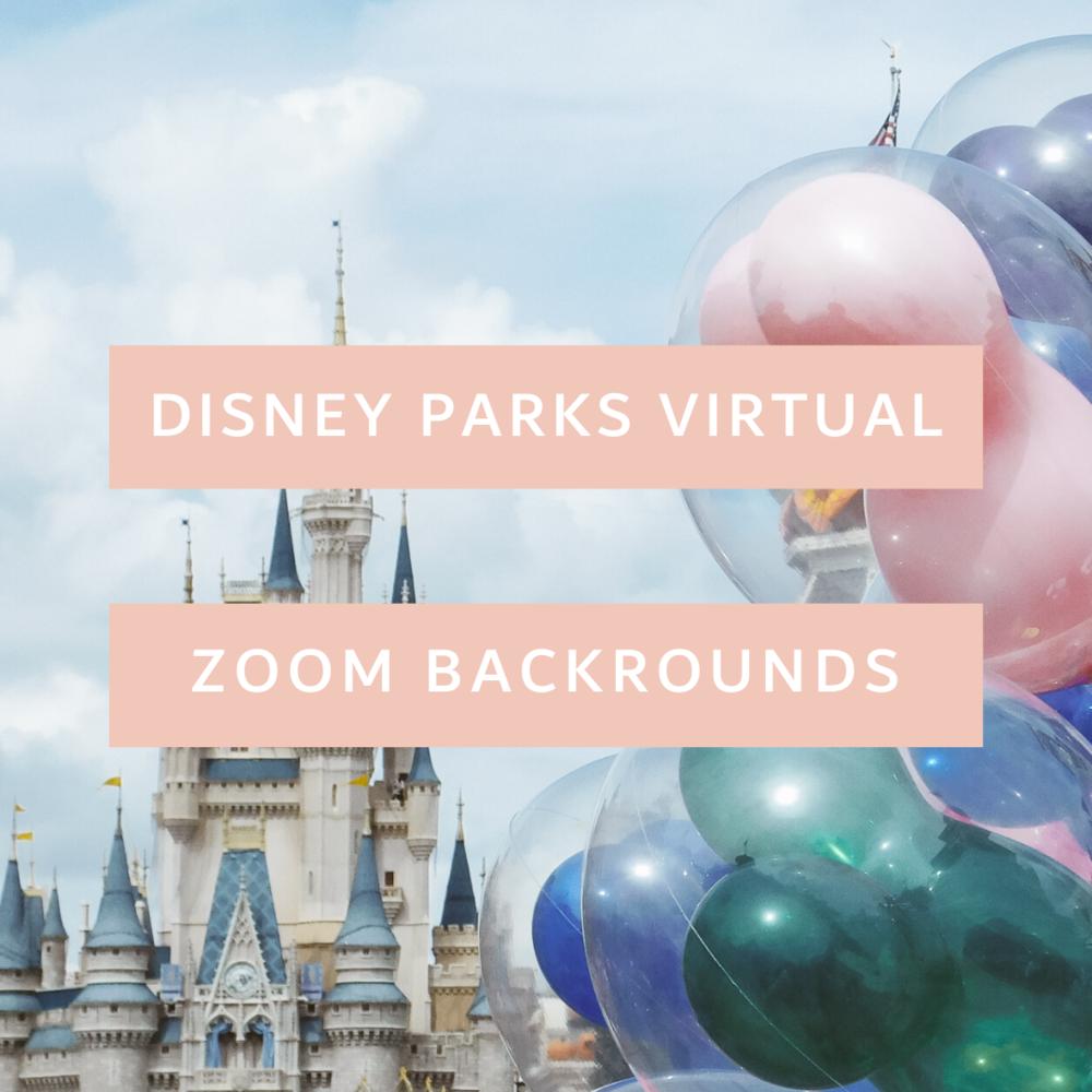 Disney Zoom Backgrounds Showcase the World 1000x1000