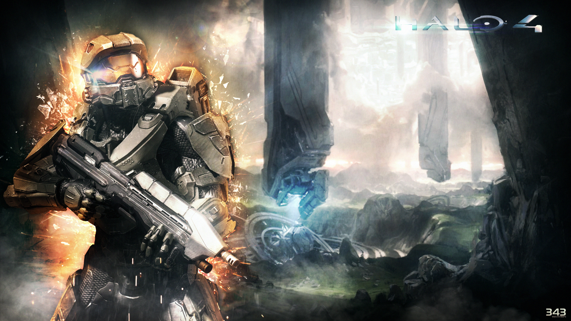 Wallpaper Halo 4 by Mackaged 1920x1080