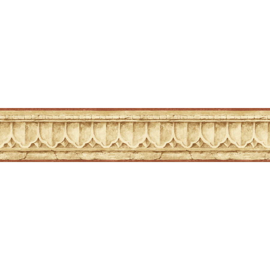 Out Zoom in Sunworthy 4 1 8 Crown Molding Prepasted Wallpaper Border 900x900