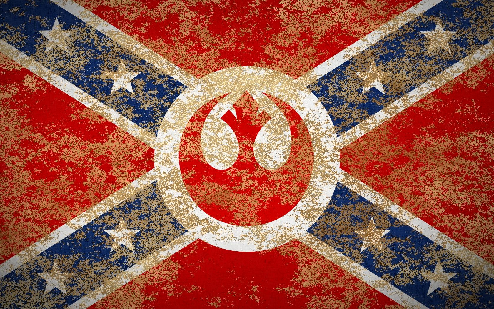 Confederate Wallpaper Rebel Flag 1680x1050