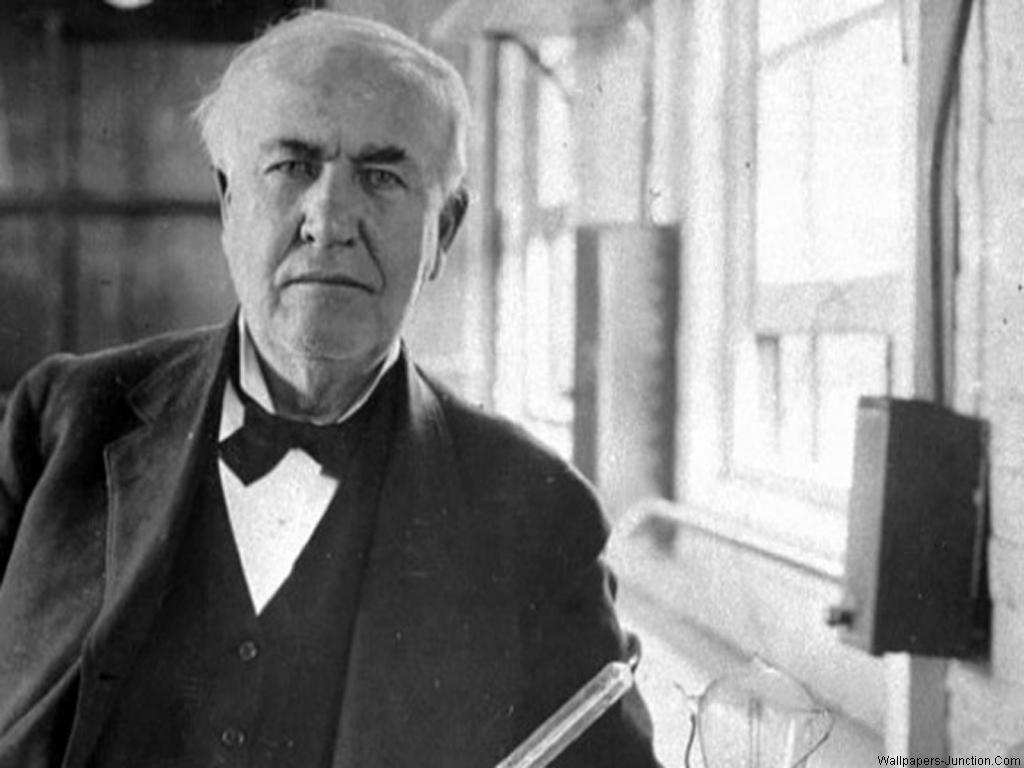 Thomas Edison wallpaper 1024x768 2296 1024x768