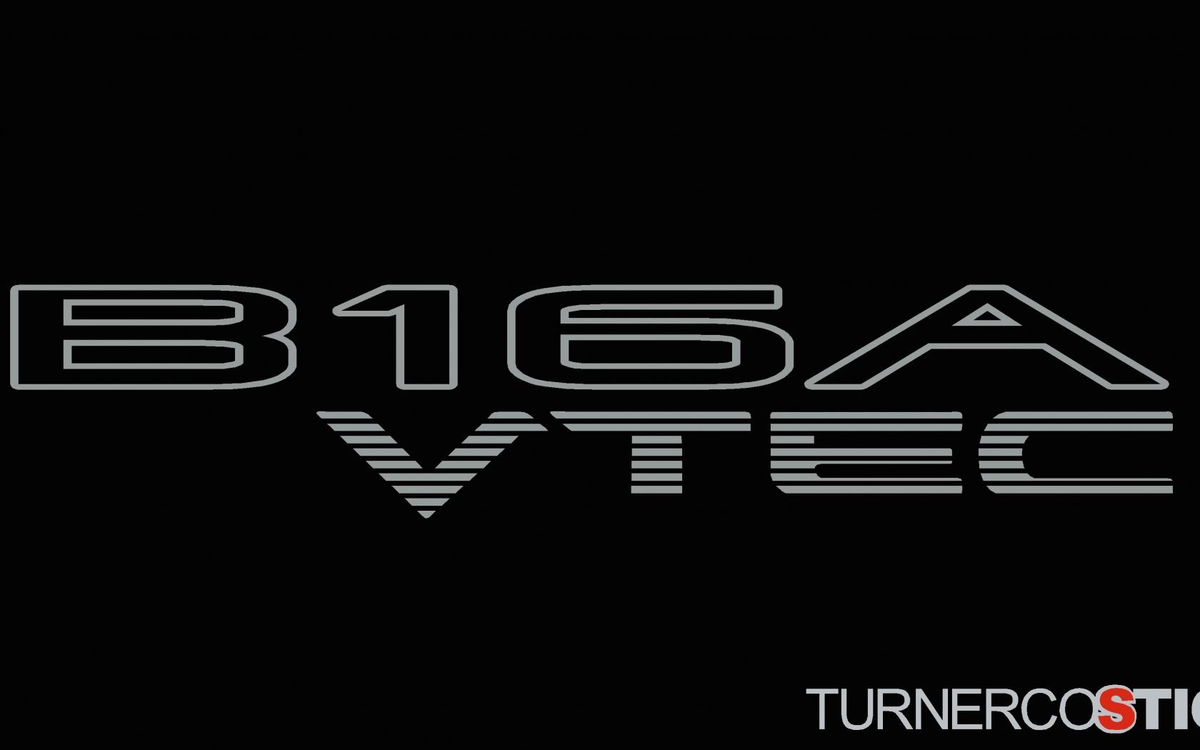 download 2x B16A VTEC honda stickers Decals For DOHC Honda 1680x1050