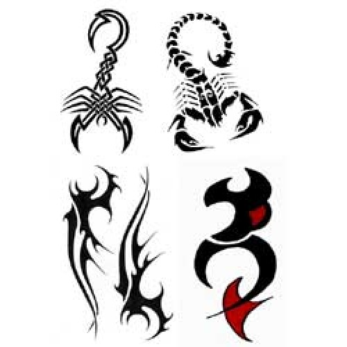 tatouage scorpion orchidee dessin tribal hd wallpaper Car Pictures 500x500