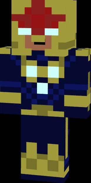 Gallery Nova Minecraft Skin 310x624