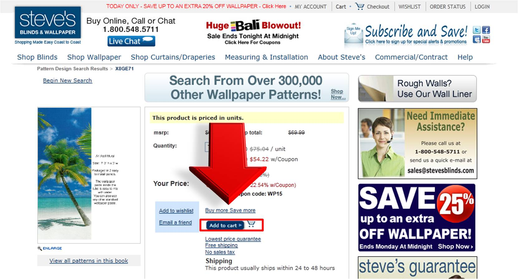 StevesBlindsandWallpaper Coupon Code Coupon Online Codes 1662x897