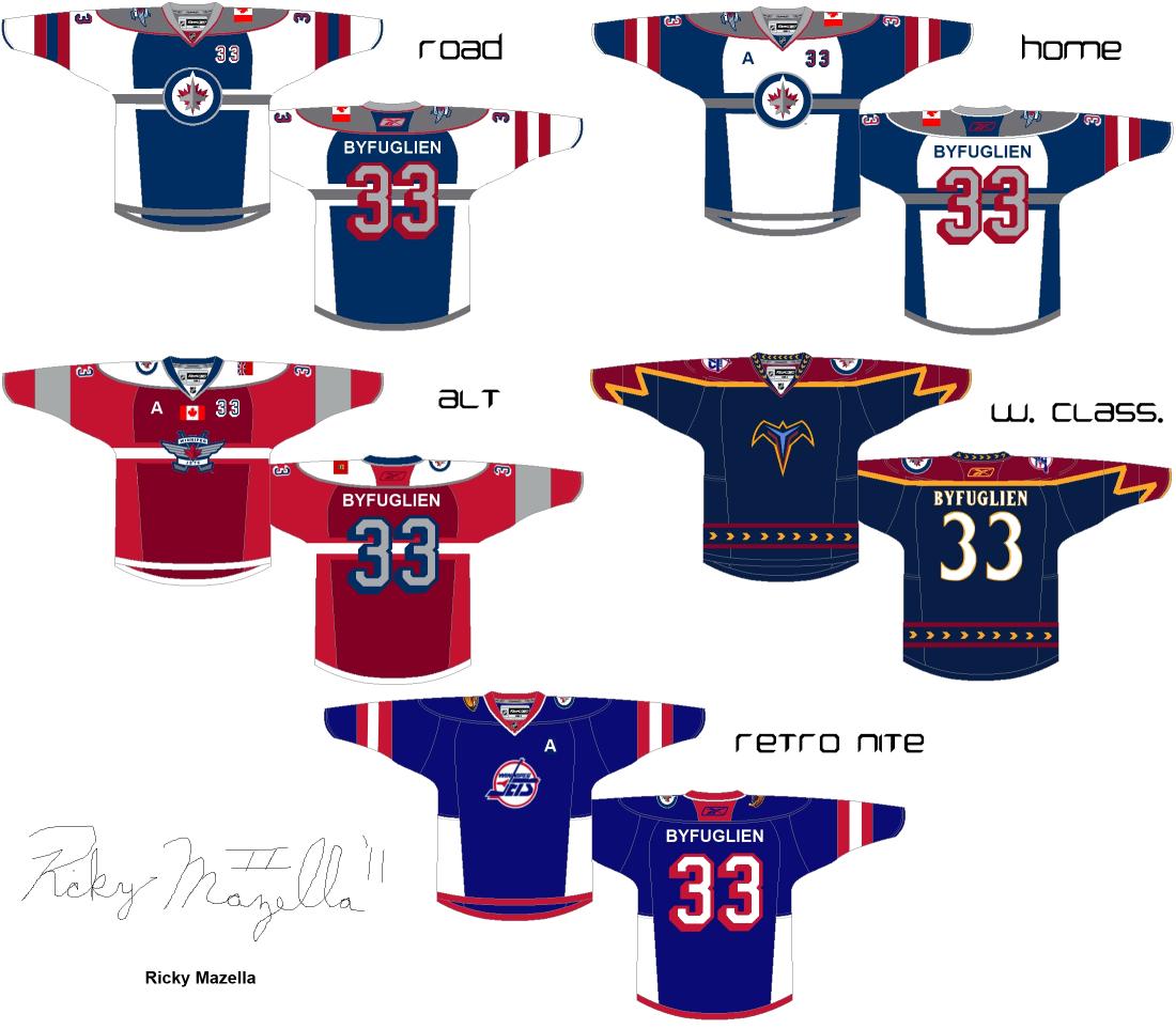 Winnipeg Jets concepts by Ricky 1100x963
